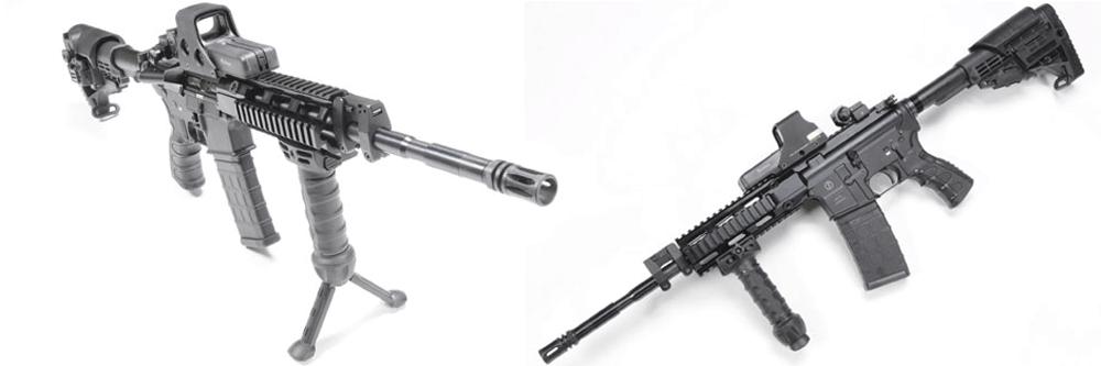 AR-15 Schmeisser