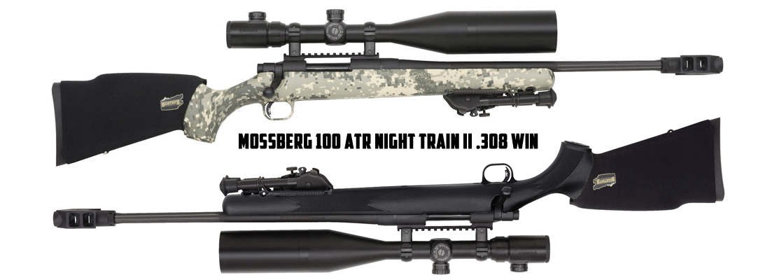 Mossberg 100 ATR Night Train II .308 Win