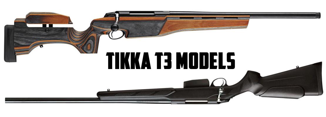 tikka t3 carbines