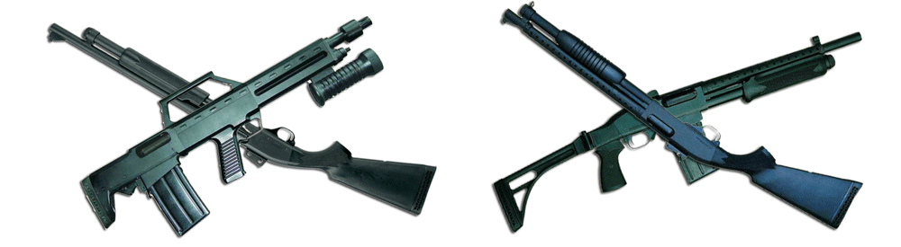 hawk pump bullpup and type791 Hawk Shotguns