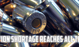 Ammunition shortage reaches all time high