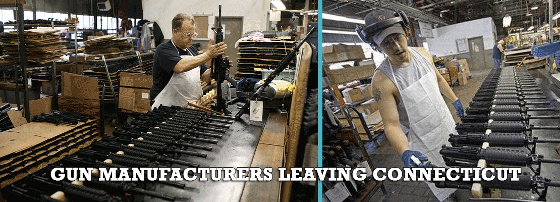 Gun manufacturers leaving Connecticut