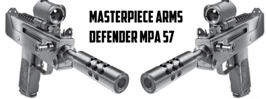 Masterpiece Arms Defender MPA 57: The Ingram Kid