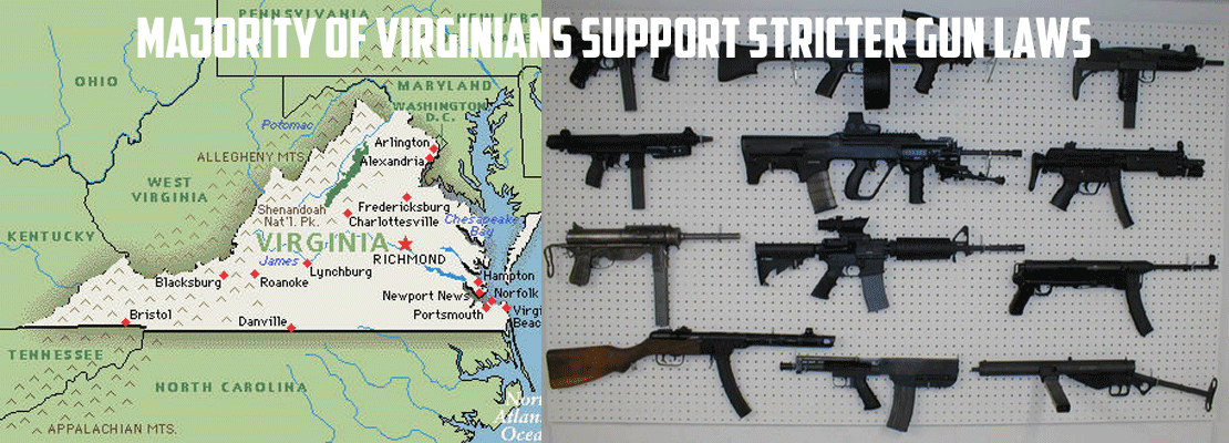 Majority of Virginians support stricter gun laws