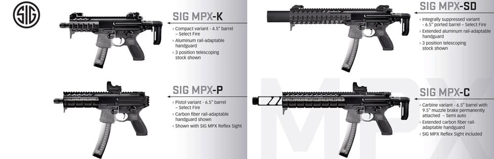 SIG mpx variants