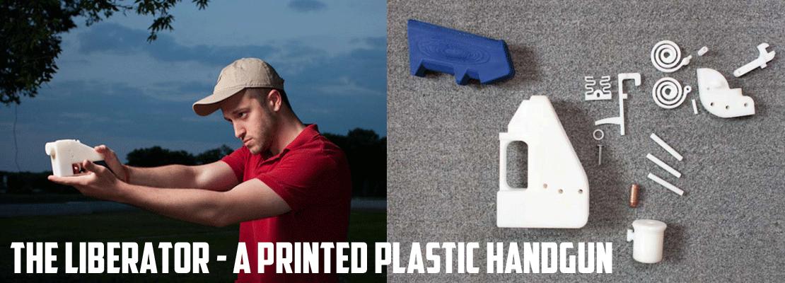 The Liberator - a Printed Plastic Handgun
