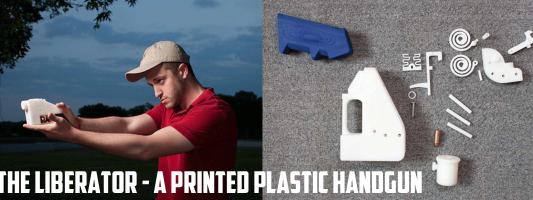The Liberator - a Printed Plastic Handgun