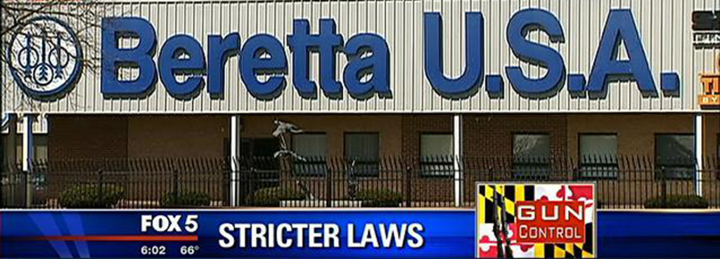 New Gun Laws Discourage Beretta's Expansion in Maryland