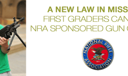 A new law in Missouri First graders can take NRA sponsored gun classes