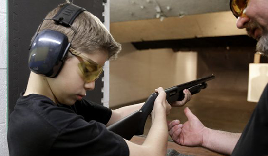 A new law in Missouri - first graders can take NRA sponsored gun classes