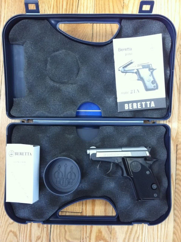 beretta 21a 2 1024x768 764x1024 Beretta 21a    Small pistol, excellent performance