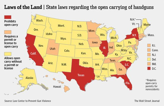 Green light for open-carry in Mississippi