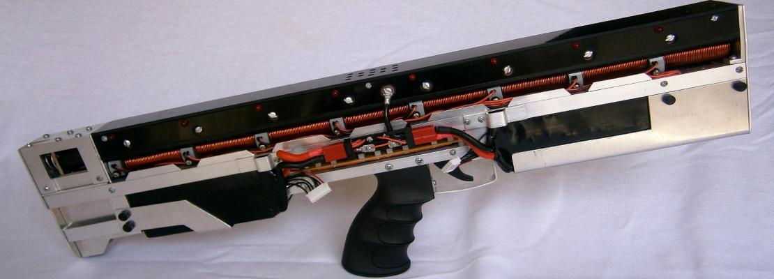 Gauss gun: SF comes for a visit