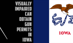 Visually impaired can obtain gun permits in Iowa