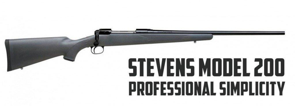 Stevens Model 200 – Savage Arms