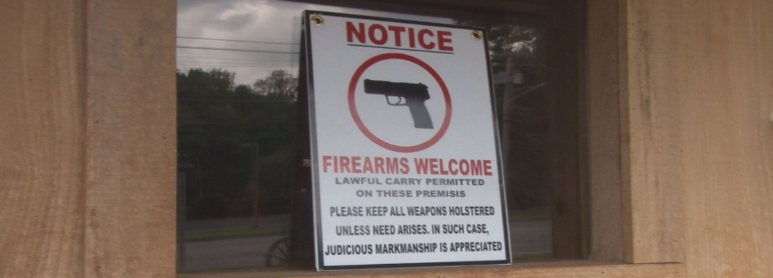 Gun Friendly Signs Improving Economy In Maryville Sog