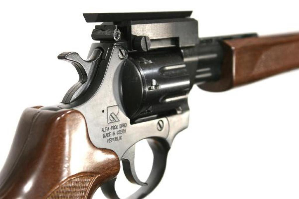 .22 WMR Hunter Revolver Carbine