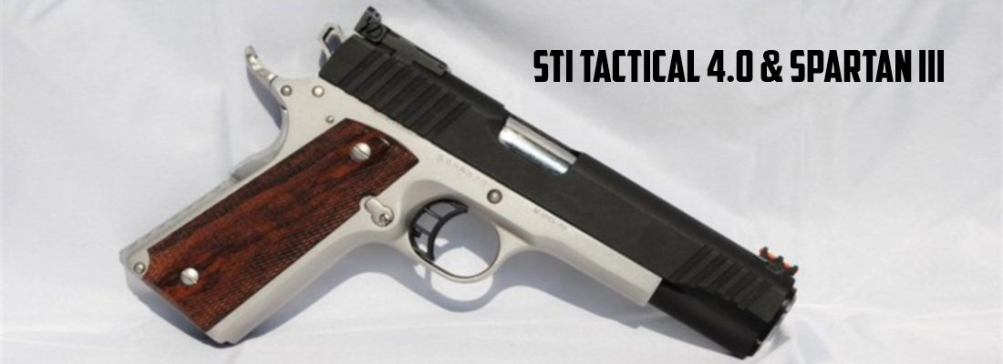 STI Tactical 4.0 and Spartan III