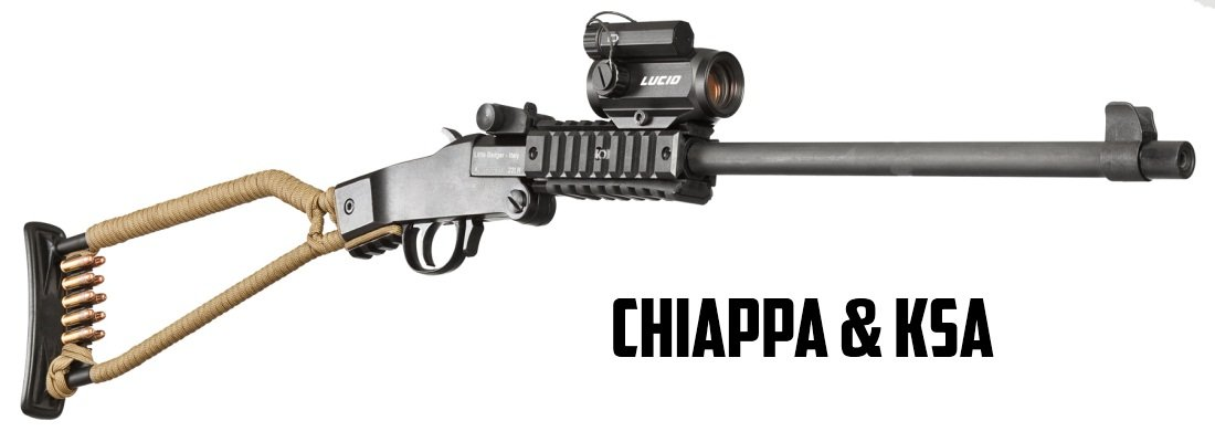 Single Shot Low Caliber Rifles Chiappa and KSA