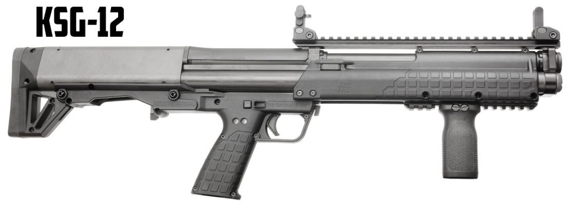 Kel tec ksg 12 bullpup door breacher s o g for 12 gauge door breacher