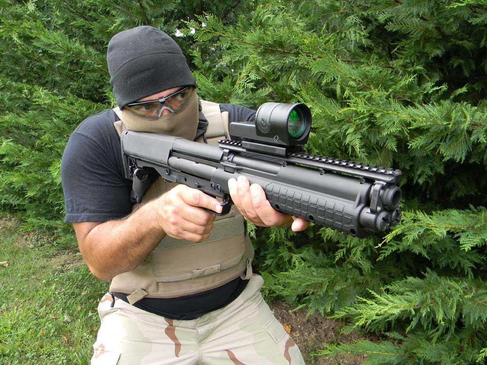 Kel-tec Ksg 12 Gauge Shotgun Kel-tec Ksg-12
