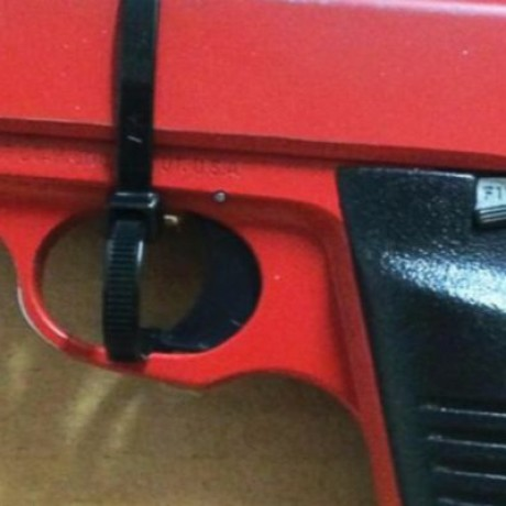 Man Attempted To Disguise His Gun As A Toy