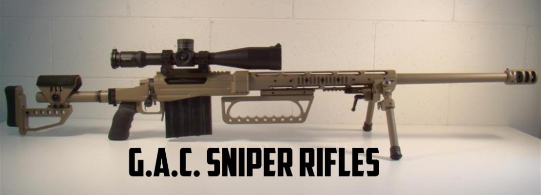 G.A.C. Sniper Rifles