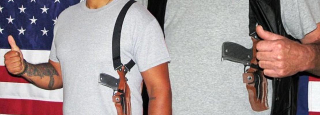 Next on Shirts – Holstered Gun Motives
