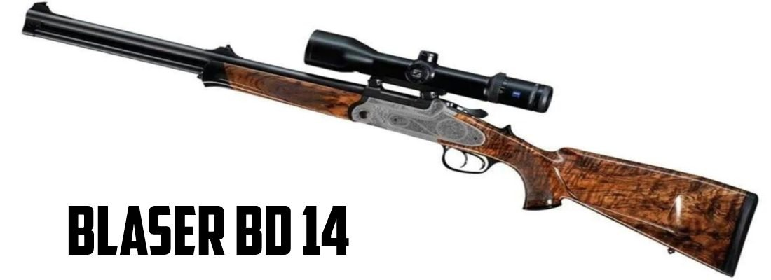 Blaser BD14: Gentlemen Prefer Drillings