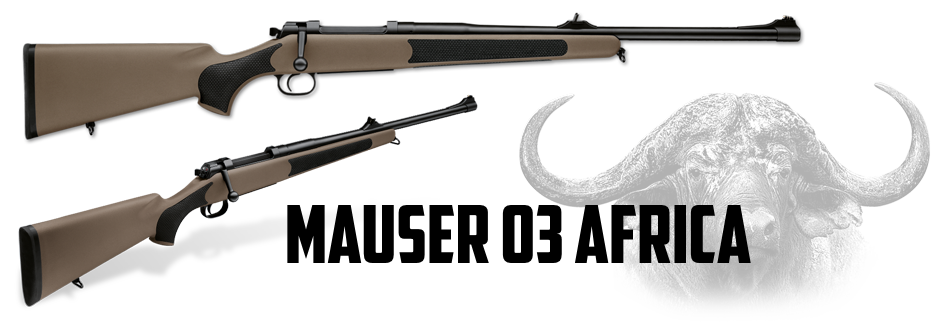 The Big Five Combo: Mauser 03 Africa and .404 Jeffery