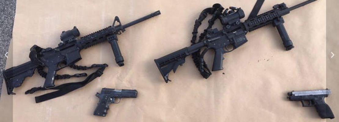 2 of the 4 Guns Used in San Bernardino Massacre Were Bought in San Diego