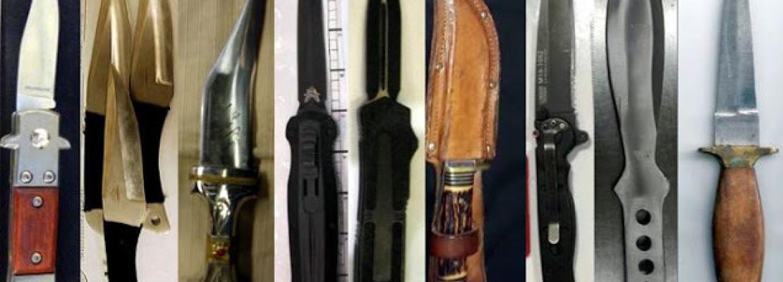 42 guns were found on Thanksgiving travelers